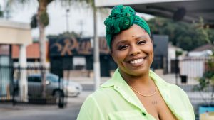 Photo of Patrisse Cullors
